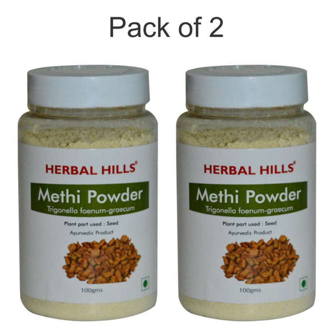 Herbal Hills Methi Seed Powder 100Gms Pack of 2