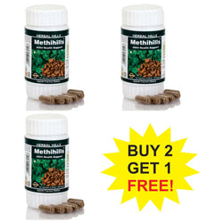 Herbal Hills Methihills 60 Capsules  Buy 2 Get 1 FREE