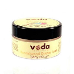 Veda Essence Natural & Pure Sandalwood Diaper Rash Baby Butter 150 ML