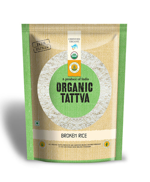 Organic Tattva Broken Rice 1kg