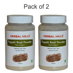 Herbal Hills Pippali Root Powder 100 Gms-(Pack of 2)