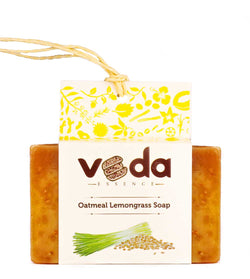 Veda Essence Oatmeal Lemongrass Natural Handmade Soap