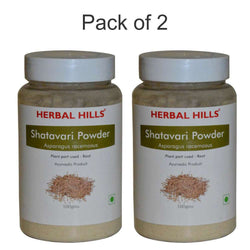 Herbal Hills Shatavari Powder 100Gms Pack of 2