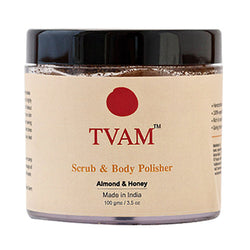 TVAM Face Scrub Body Polisher - Almond & Honey