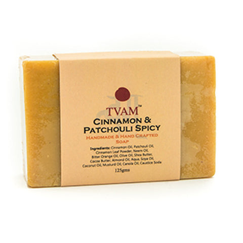 TVAM Soap - Cinnamon & Patchouli Spicy - 125 Gms