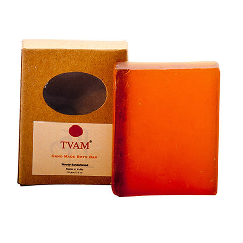 TVAM Handmade Soap Woody Sandalwood 100Gm