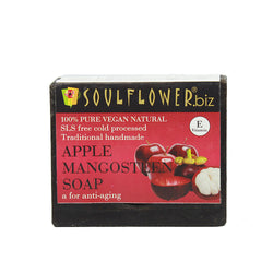 Soulflower Apple Mangosteen soap