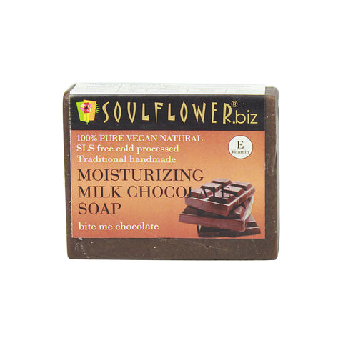 Soulflower Moisturizing Milk Chocolate soap