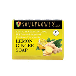 Soulflower Lemon Ginger soap