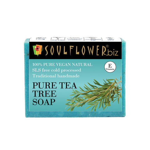 Soulflower Pure Tea Tree soap