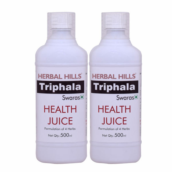 Herbal Hills Triphala Juice (Combo) - 500 ml each(Pack of 2)