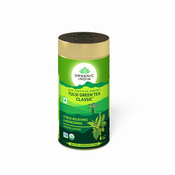 Organic India Tulsi Green Tea 100 Gms Tin