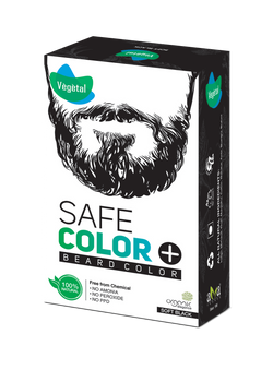 Vegetal Safe Colour Soft Black For Beard 25 Gms