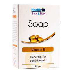 Healthvit Bath & Body Vitamin E Soap 75g