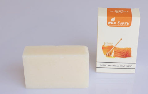 Wild Earth - Handmade Honey Oatmeal Milk Soap