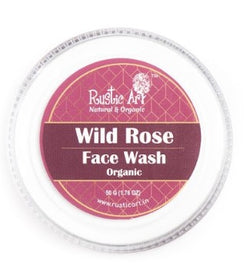 Rustic Art Organic Wild Rose Face Wash Concentrate 50gm