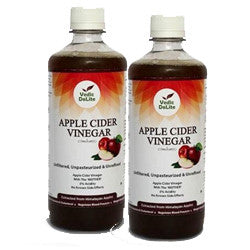 Vedic Delite Apple Cider Vinegar with Mother For A Healthy Immune System 1Lt