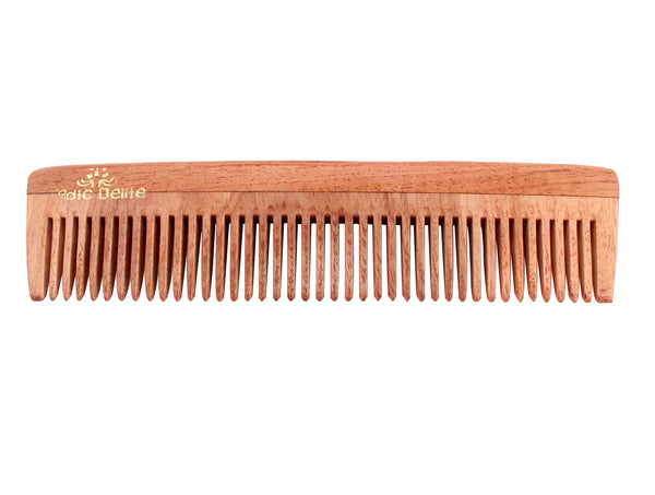 Vedic Delite Neem Wooden All Purpose Comb