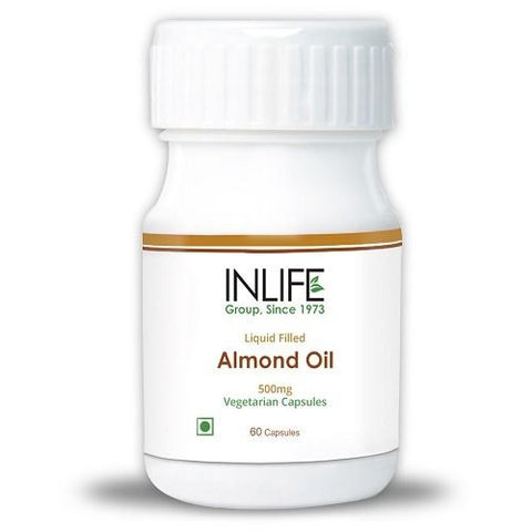 InLife Almond Oil 60 Vegetarian Capsules