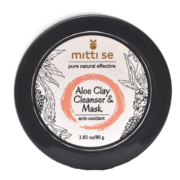 Mitti Se Aloe Clay Cleanser & Revitalizing Mask 80gms