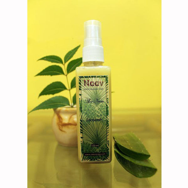 Neev Aloe Neem Face Wash - For Acne Prone Skin - 100 ml