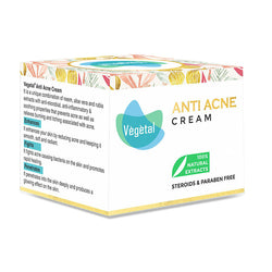 Vegetal Anti-Acne Cream