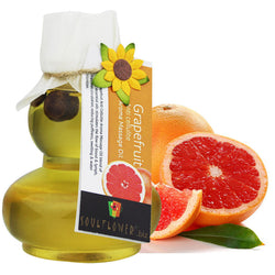 Soulflower Grapefruit Anti Cellulite Aroma Massage Oil - 90 ml