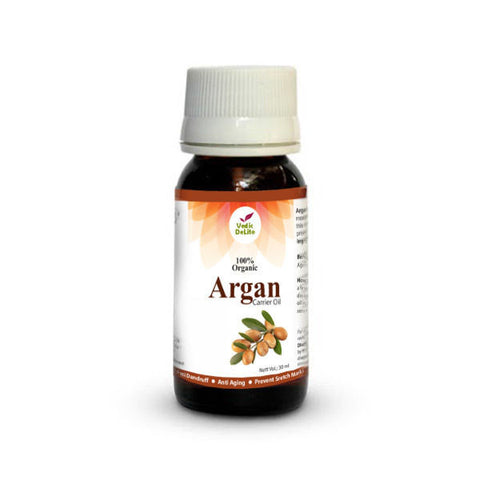 Vedic Delite Argan Organic Carrier Oil 30mL