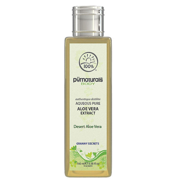 Pure Naturals - Authentique Aloe Vera Face Care Extract -100 ml