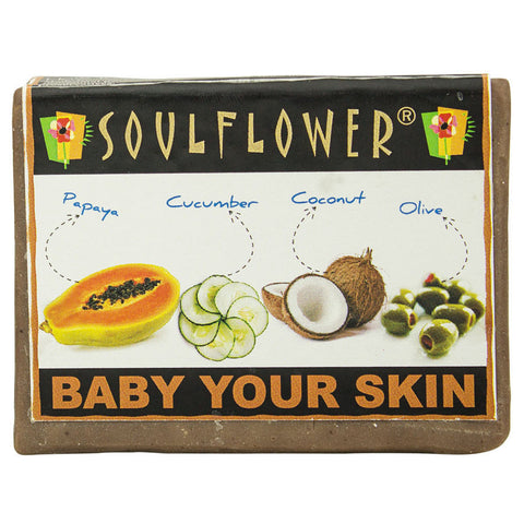 Soulflower - Baby Your Skin 100% veg soap - 150 gms