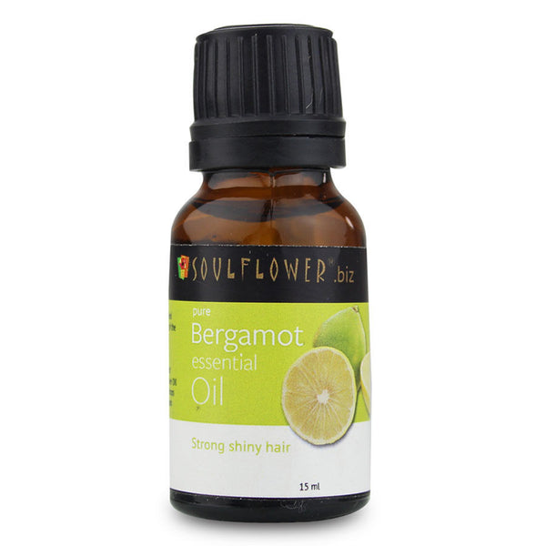 Soulflower Bergamot Essential Oil - 15 ml
