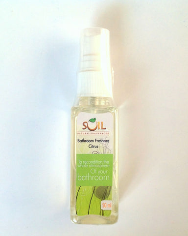 SOIL Bathroom Freshener Citrus 50mL