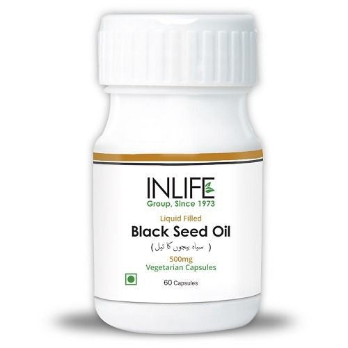 InLife Black Seed Oil 60 Veg Capsules