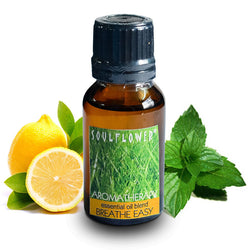Soulflower Breathe Easy Essential Oil - 15 ml