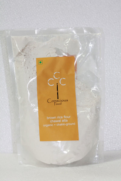 Conscious Food Brown Rice Flour 500Gms