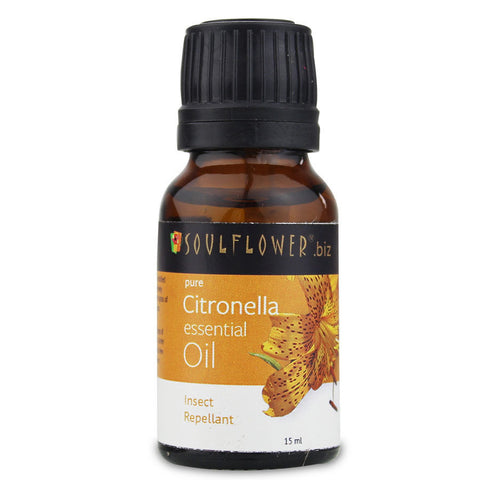 Soulflower Essential Oil Citronella - 15 ml