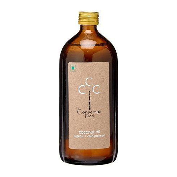 Conscious Food Cold Pressed Coconut Oil 500mL