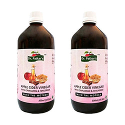 Dr. Patkar's Apple Cider Vinegar with Cinnamon and Fenugreek 1Ltr