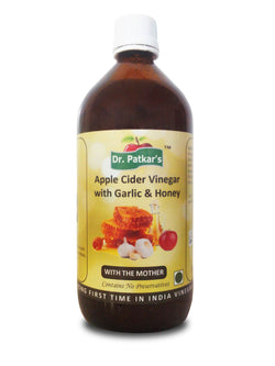 Dr. Patkar Apple Cider Vinegar with Garlic and Honey 1Lt