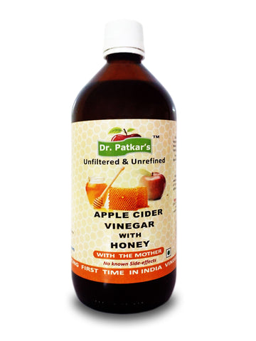 Dr. Patkar Apple Cider Vinegar with Honey 1Lt.