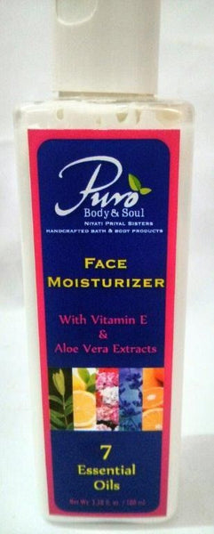 Puro Body and Soul Face Moisturizer - 100ml