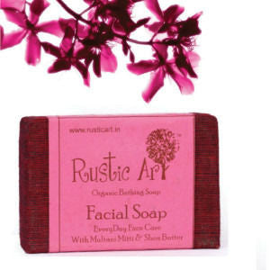 Rustic Art - Organic Facial Soap - 100 gms