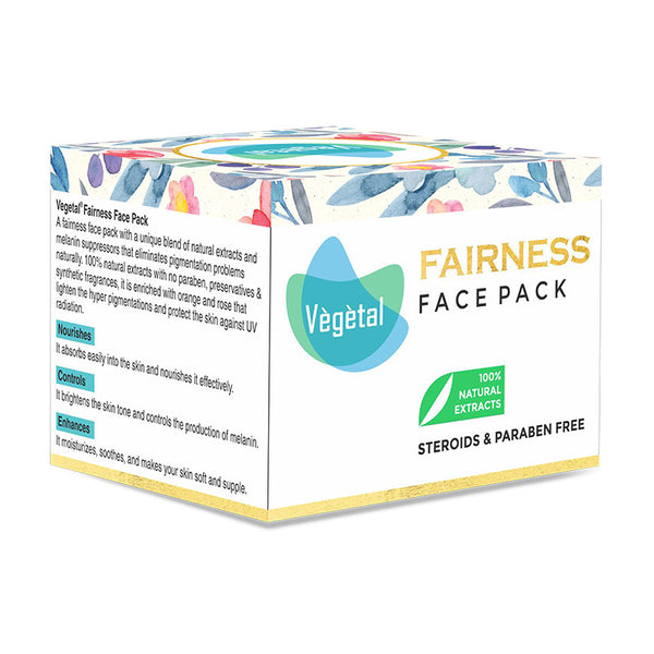 Vegetal Fairness Face Pack