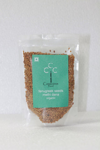 Conscious Food Organic Fenugreek Seeds 100Gms
