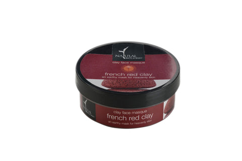 Natural Bath and Body French Red Clay Clay Face Mask 100 ml