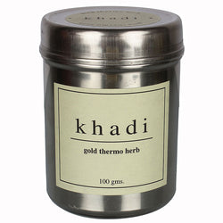 Khadi Gold Thermo Herb (Skin Tightning Face Pack) - 100 Gms