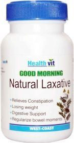 HealthVit GOOD MORNING Natural Laxative Tablets(Pack of 2)