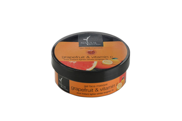 Natural Bath and Body Grapefruit & Vitamin C Gel Face Masque 100 ml
