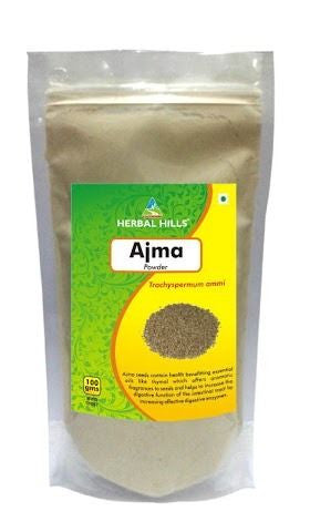 Herbal Hills Ajma Powder 100Gms Pack of 3