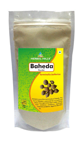Herbal Hills Baheda Powder 100Gms Pack of 3